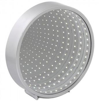 Ogledalo INFINITY MIRROR ROUND SLV LED