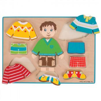Puzzle DRESSING BOY PUZZLE