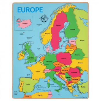 Puzzle za decu EUROPE