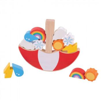 Drvena igračka WEATHER
