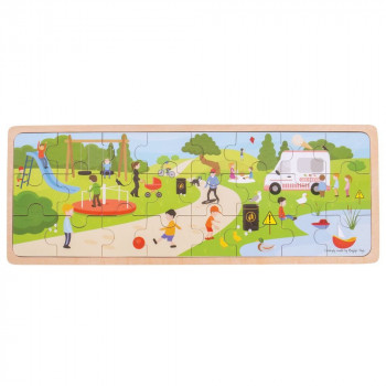 Puzzle za decu IN THE PARK