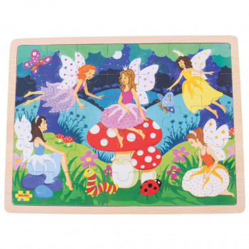 Dečija Igračka ENCHANTED FAIRIES 35 PCE TRAY PUZZLE