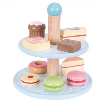Drvena igračka STALAK ZA KOLAČE