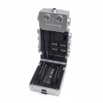 Set Alata TOOL SET ROBOT WITH LIGHT SILVER 3XAAA