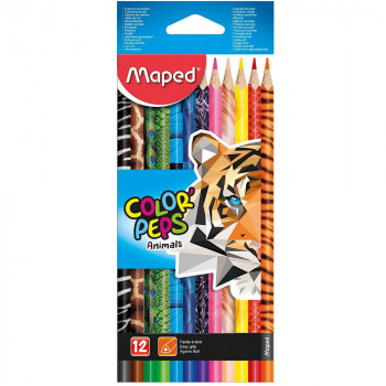 DRVENE BOJICE MAPED Color Peps Animal