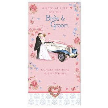 Čestitka za venčanje BRIDE & GROOM