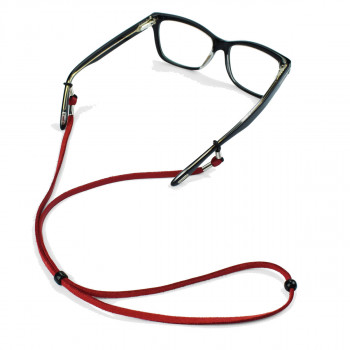 SOS STRING GLASSES CORD RED