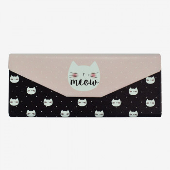 SEE YOU SOON MINI FOLDABLE GLASSES CASE MEOW