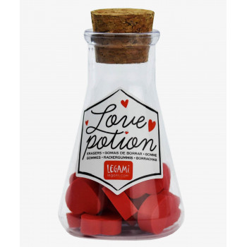 Set gumica za brisanje LOVE POTION