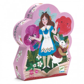 SILHOUETTE PUZZLE ALICE IN WONDERLAND