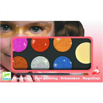 MAQUILLAGE PALETTE 6 COLOURS METALLIC