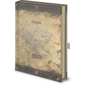 Notes Premium A5 GAME OF THRONES Stark Worn