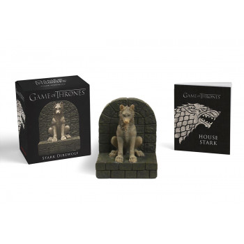 GAME OF THRONES STARK DIREWOLF mini kit