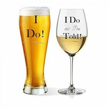Čaše I DO AS I'M TOLD GLASSES SET