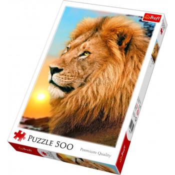 Puzzle TREFL Lion 500