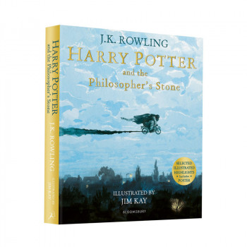 HARRY POTTER PHILOSOPHERS STONE ILLUSTRATED pb