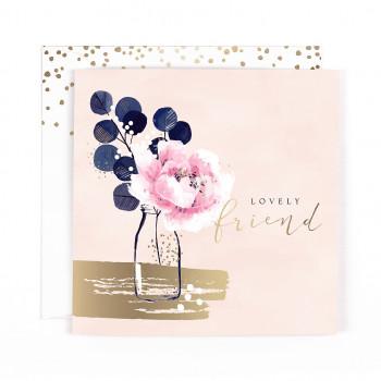 Rođendanska ćestitka - Vaza sa cvećem