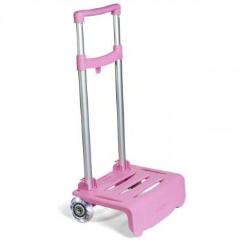 Kolica za ranac sa svetlećim točkićima BUSQUETS Light Pink