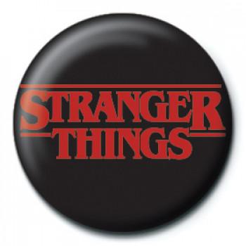 Bedž STRANGER THINGS Logo