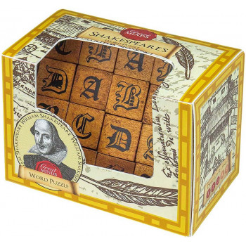 METAL AND WOODEN SHAKESPEARES WORD PUZZLE