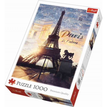 Puzzle PARIS AT DAWN 1000 kom