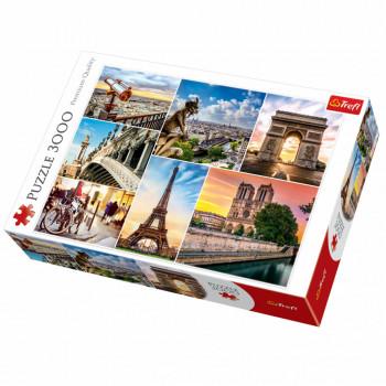 Puzzle TREFL Magic of Paris, Collage 3000