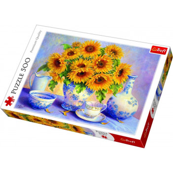 Puzzle TREFL Sunflowers 500