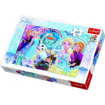 Puzzle TREFL Frozen Land Of Friendship 100