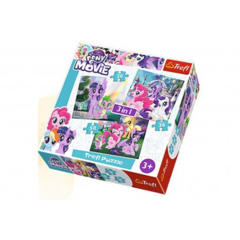 Puzzle 3 u 1 TREFL My Little Pony