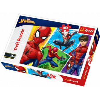 Puzzle TREFL Spiderman & Miquel 30
