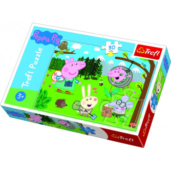 Puzzle TREFL PEPPA PIG Forest Expedition 30