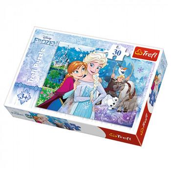 Puzzle TREFL FROZEN Unleash the magic 30