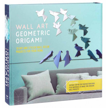 WALL ART GEOMETRIC ORIGAMI