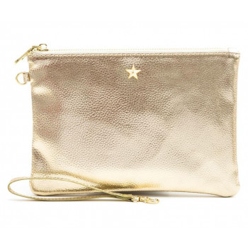 Neseser ALL THAT GLITTERS POUCH LIGHT GOLD METALLIC