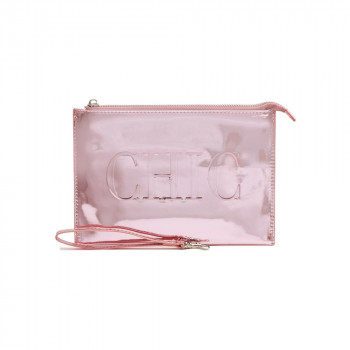 Neseser SHIMMER PINK CHAMPAGNE POUCH