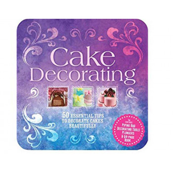 CAKE DECORATING TIN