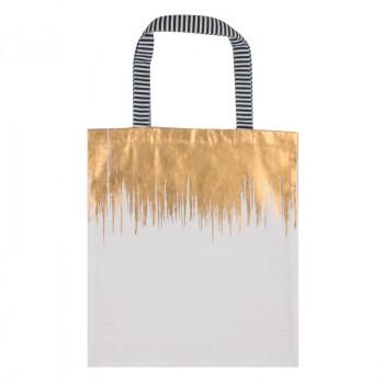 Pamučna torba WHITE GOLD DRAIN