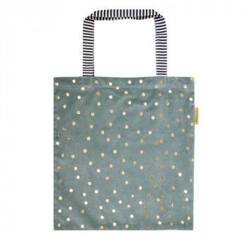 Torba GRAY GREEN GOLDEN DOTS