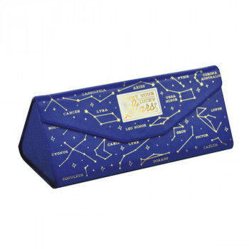 SEE YOU SOON MINI FOLDABLE GLASSES CASE STARS
