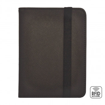Futrola za pasoš RFID BLOCKING Black