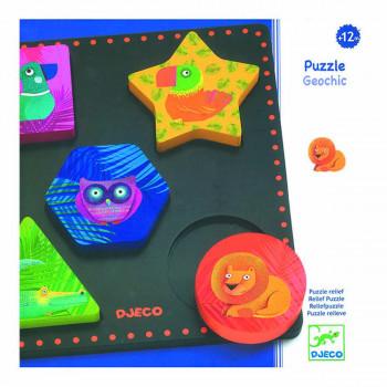 Puzzle RELIEF PUZZLE GEOCHIC