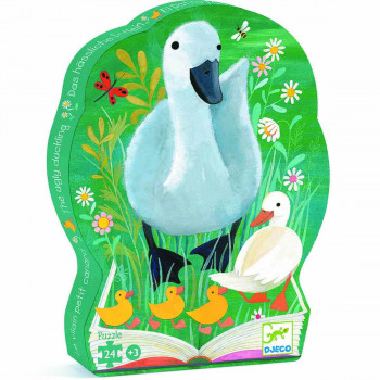 Puzzle SILHOUETTE PUZZLE THE UGLY DUCKLING 24 PCS