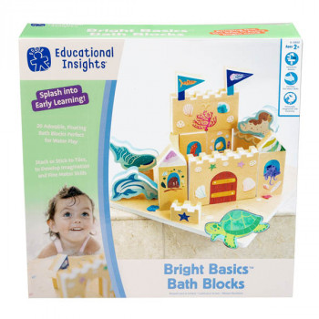 Igračka BRIGHT BASICS BATH BLOCKS