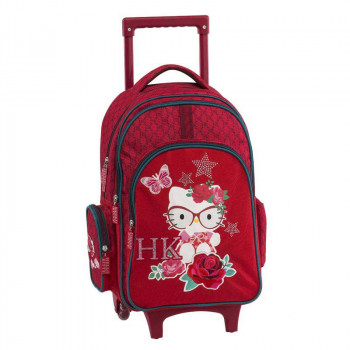 Školski Ranac HK RED TROLLEY BACKPACK