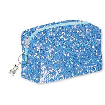 Pernica BLUE GLITTER PINEAPPLE