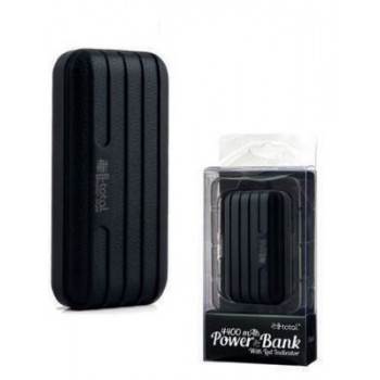 Power Bank LED 4400 MAH BLACK