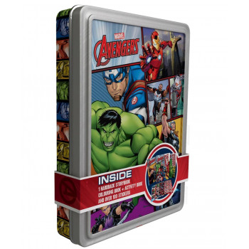MARVEL AVENGERS ACTIVITY TIN