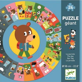 Puzzle za decu THE DAY 24