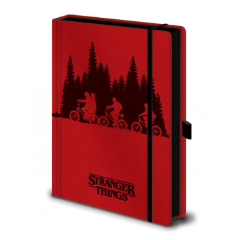 Notes Premium A5 STRANGER THINGS Upside Down