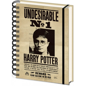 Notes sa spiralom A5 HARRY POTTER Sirius & Harry